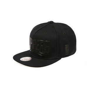 미첼엔네스 LA 클리퍼스 슈페리얼 스냅백, MitchellandNess LA CLIPPERS SUPERIOR SNAPBACK - BLK