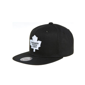 미첼엔네스 토론토 메이플 리프스 스냅백, MitchellandNess TORONTO MAPLE LEAFS BLACK/WHITE SNAPBACK