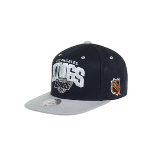 미첼엔네스 LA킹스 투톤 팀로고 스냅백, MitchellandNess LA KINGS 2TONE TEAM LOGO SNAPBACK