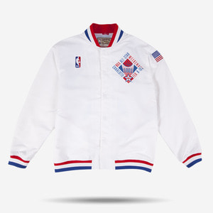 미첼엔네스 NBA 올스타 웜업 어센틱 자켓, MitchellandNess 1991 NBA ALL STAR AUTHENTIC WARM UP JACKET