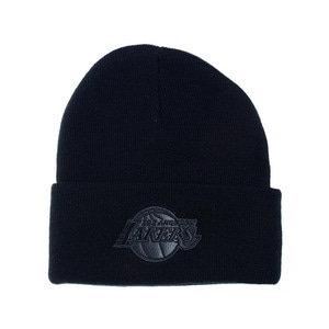 미첼엔네스 NBA LA 레이커스 챔프 커프 니트비니, MitchellandNess LA LAKERS CHAMP CUFF KNIT BEANIE