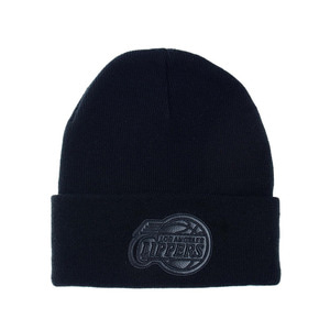 미첼엔네스 NBA LA클리퍼스 챔프 커프 니트비니, MitchellandNess LA CLIPPERS CHAMP CUFF KNIT BEANIE