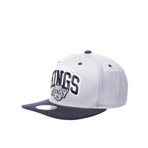 미첼엔네스 NHL LA킹스 더블업 아치 스냅백, MitchellandNess LA KINGS DOUBLE UP ARCH SNAPBACK, NHL