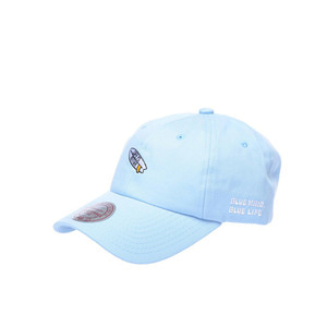 미첼엔네스 X 아이엠어서퍼 볼캡, MitchellandNess I AM A SURFER LIFE IS BETTER BALLCAP - SKYBLUE