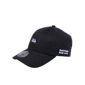 미첼엔네스 X 아이엠어서퍼 볼캡, MitchellandNess I AM A SURFER BALLCAP - BLACK