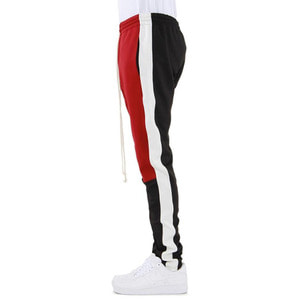 [EPTM] COLOR BLOCK TRACK PANTS (RED/WHITE/BLACK) - 풋셀스토어