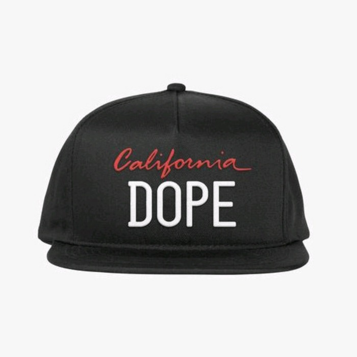 [도프]DOPE Licensed Snapback (Black) - 풋셀스토어