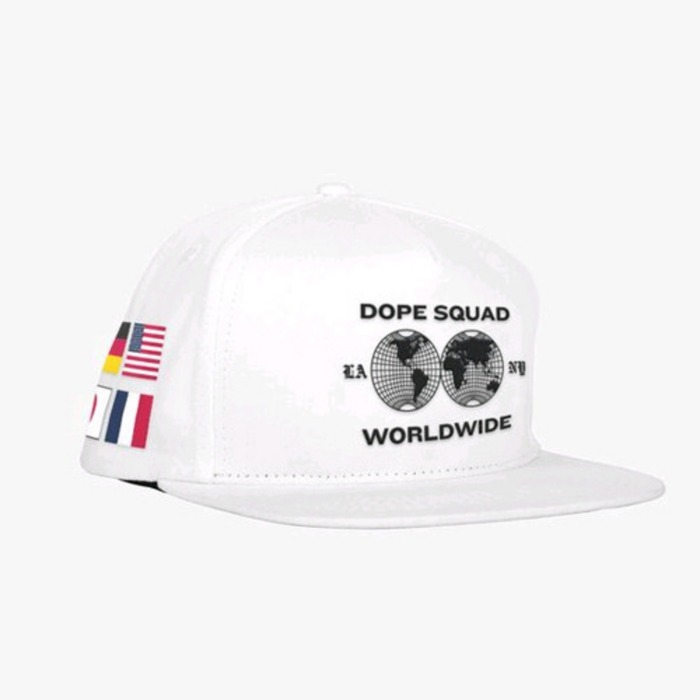 [도프]DOPE International Snapback (White) - 풋셀스토어