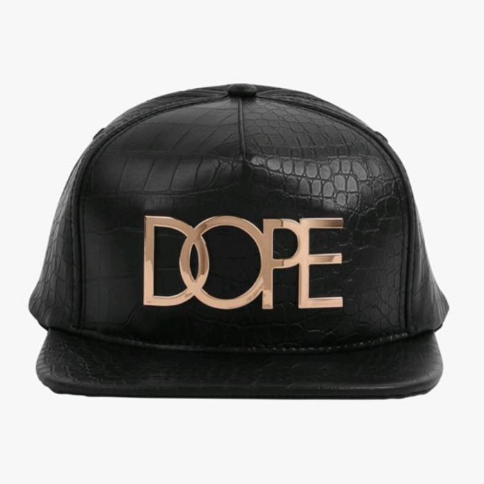 [도프]DOPE Alligator 24K Snapback (BLACK) - 풋셀스토어