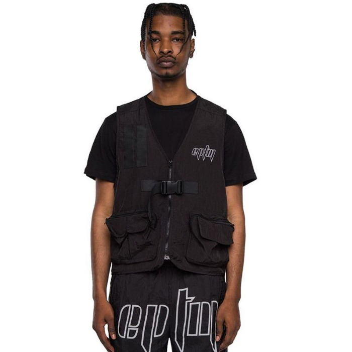 [EPTM] TACTICAL VEST (BLACK) - 풋셀스토어
