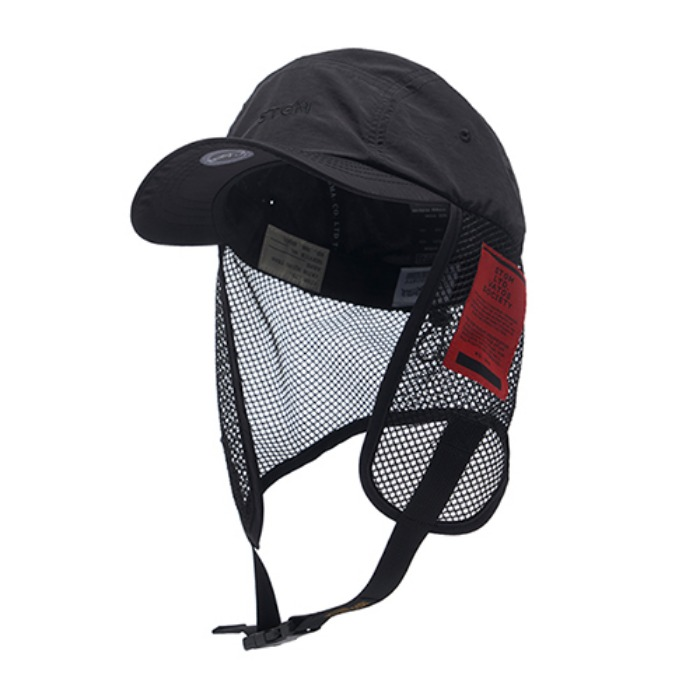 스티그마 STIGMA STGM FISHING CAP BLACK - 풋셀스토어