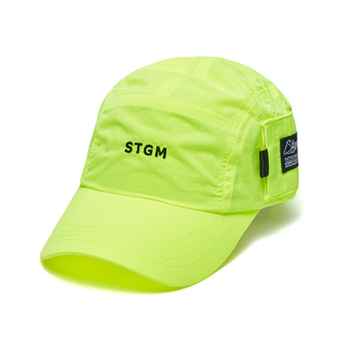 스티그마 STIGMA STGM POCKET CAMP CAP NEON GREEN - 풋셀스토어