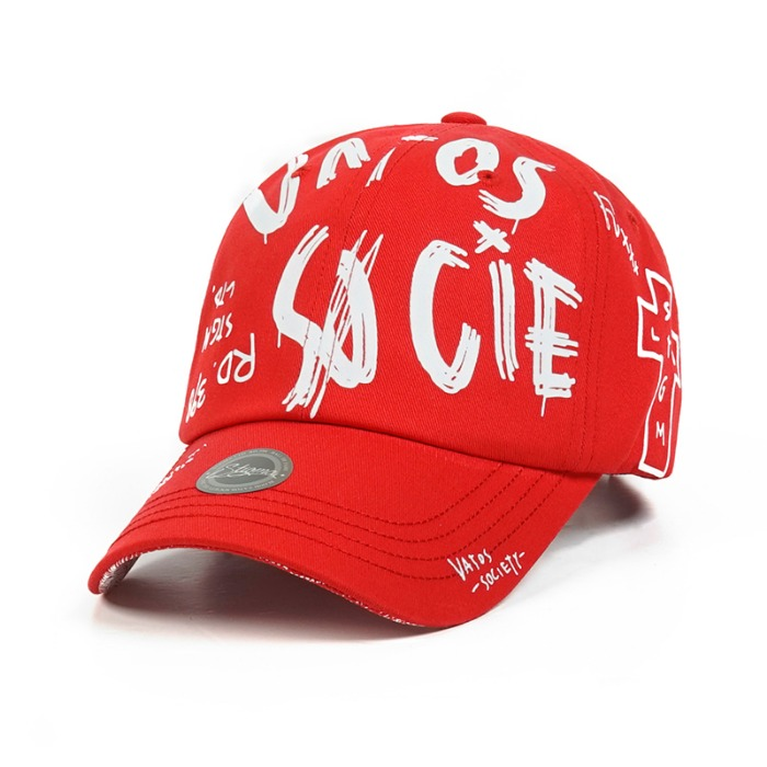 스티그마 STIGMA FRANKLIN BASEBALL CAP RED - 풋셀스토어