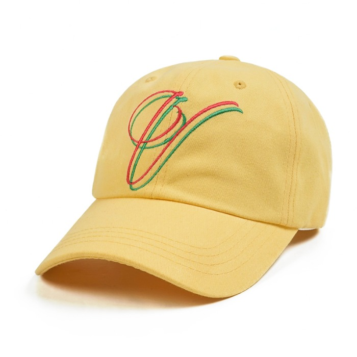 스티그마 STIGMA V BASEBALL CAP LIGHT YELLOW - 풋셀스토어