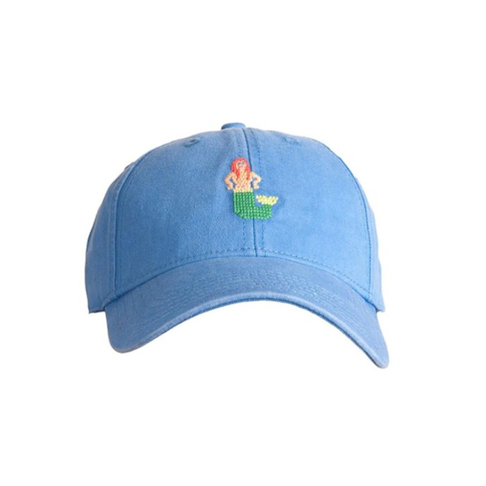 [하딩레인] Adult`s Hats Mermaid on Periwinkle Blue - 풋셀스토어