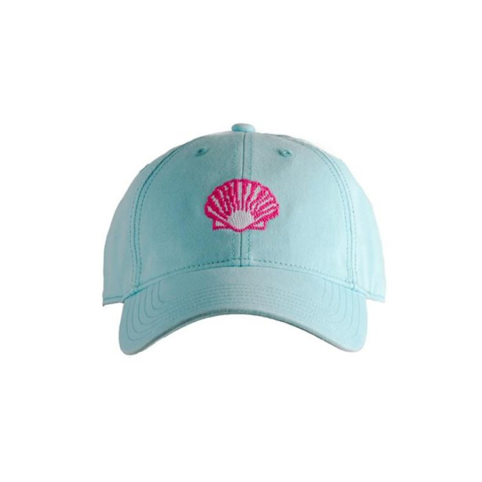 [하딩레인] Adult`s Hats Scallop on Aqua - 풋셀스토어