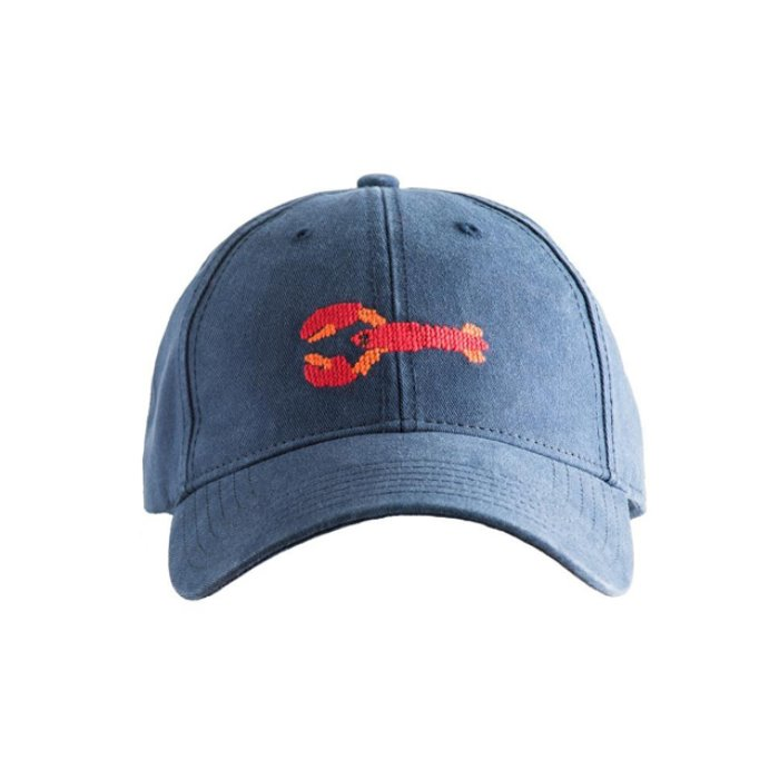 [하딩레인] Adult`s Hats Lobster on Navy blue - 풋셀스토어