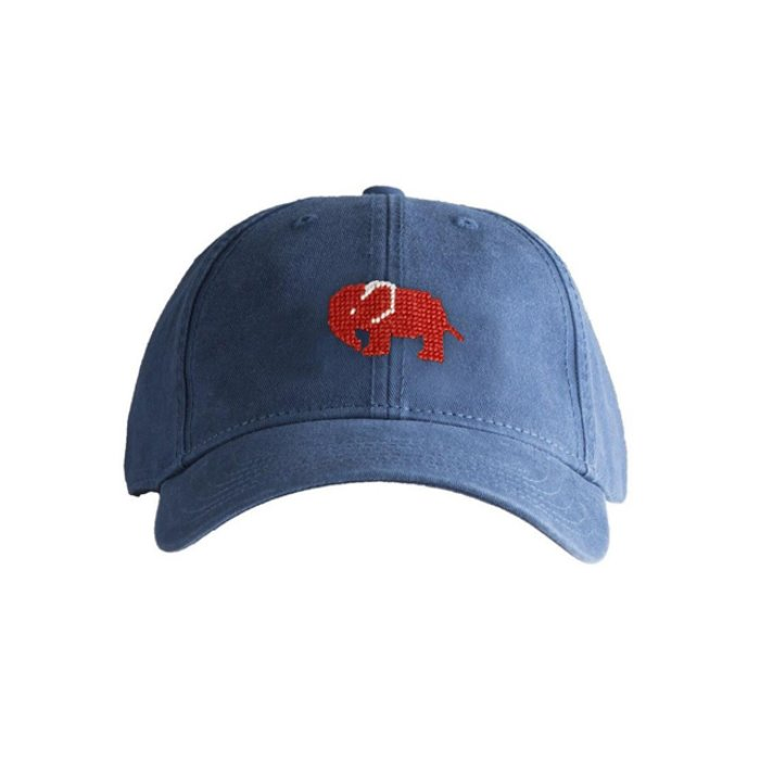 [하딩레인] Adult`s Hats Red Elephant on Navy blue - 풋셀스토어