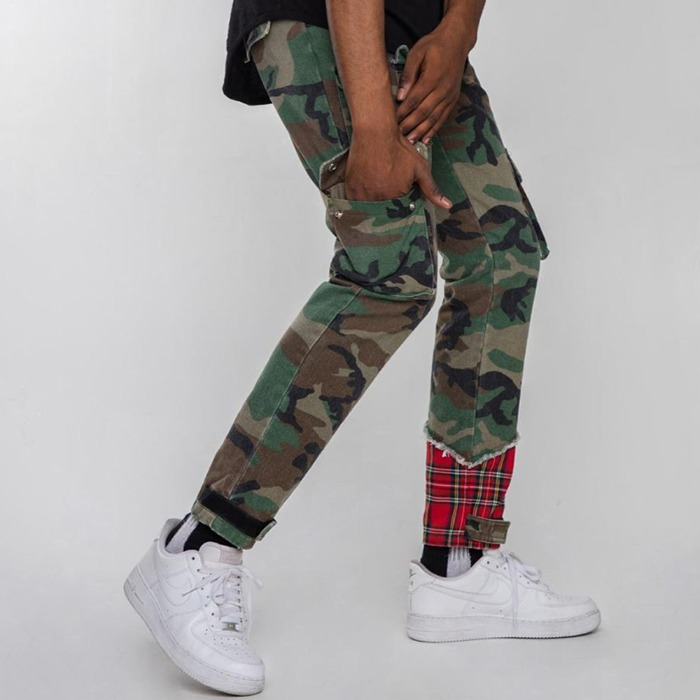[EPTM] PLAID PANTS CAMO - 풋셀스토어