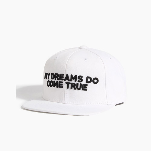 [808hats] 808스냅백, My Dreams Do Come True White, 도끼스냅백