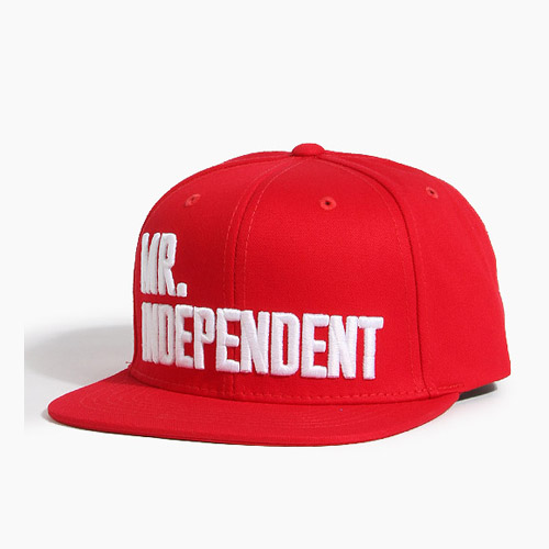 [808hats] 808스냅백, Mr.Independent Red, 도끼스냅백