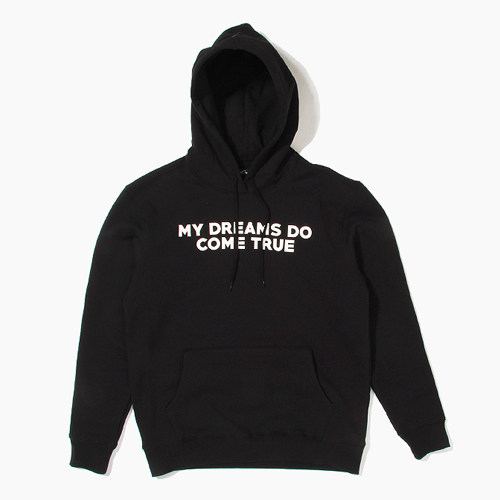 [808hats] 808 후디, My Dreams Do Come True Pullover Hoodie Black, 도끼후드티